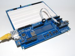 Using the Arduino Proto Shield Plus with Arduino NANO and an additional Shield