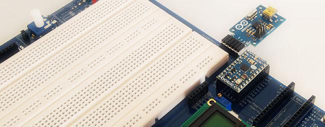 Predisposizione per Arduino MINI e USB to SERIAL Adapter