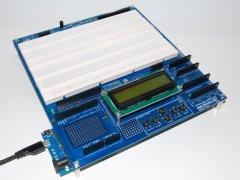 Arduino Proto Shield Plus with LEONARDO board