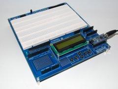 Arduino Proto Shield Plus with NANO board